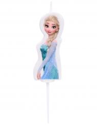 Vela de cumpleaños Elsa Frozen™ 4.5 cm