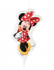 Vela de cumpleaños Minnie™ 5.5 x 9 cm