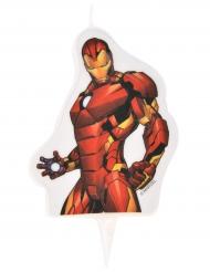 Vela de cumpleaños Avengers™ Iron Man 6 x 7.3 cm
