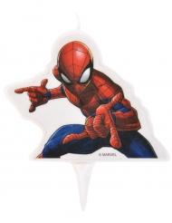 Vela de cumpleaños Spiderman™ 9 x 7 cm