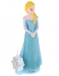 Vela de cumpleaños 3D Elsa Frozen™ 9.5 cm