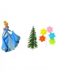 4 Accesorios para tarta Princesas Disney™ Cenicienta 10 x 20.5 x 5 cm