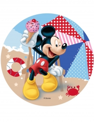 Disco ácimo Mickey™ playa 14.5 cm
