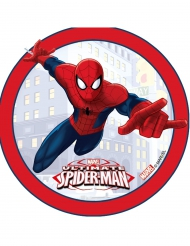 Disco efecto 3D Ultimate Spiderman™ 14.5 cm