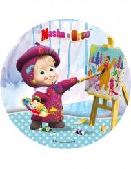 Disco oblea Masha y el oso™ 21 cm