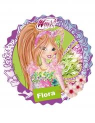 Disco ácimo Winx™ Flora 21 cm