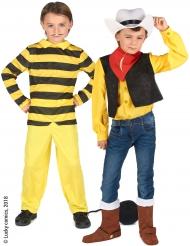 Disfraz pareja Dalton et Lucky Luke™ niños