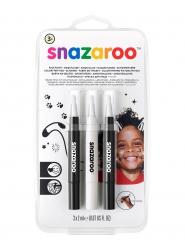 Lote de bolígrafos pinceles negro y blanco