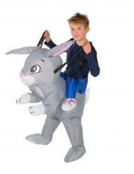 Disfraz conejo inflable niño
