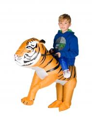 Disfraz tigre inflable niño