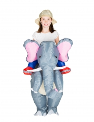 Disfraz elefante inflable niño
