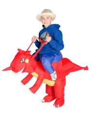 Disfraz dragón hinchable niño