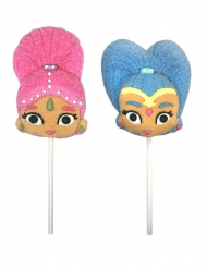 2 Piruletas malvavisco Shimmer and Shine™