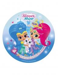 Disco de azúcar Shimmer & Shine™ 20 cm