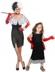 Disfraz pareja Cruela madre e hija
