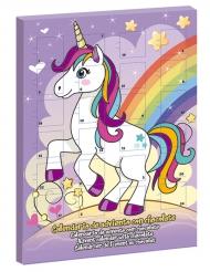Calendario de adviento Unicornio 50 gr