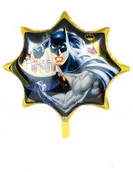 Globo aluminio gigante Batman™ amarillo 71 cm