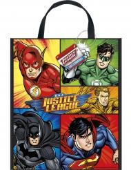 Bolsa de regalo de plástico Liga de la Justicia™ 33 x 28 cm