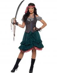 Disfraz pirata burlesco mujer