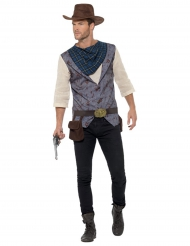Disfraz cowboy de lujo para hombre