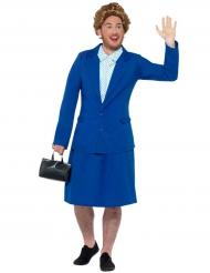 Disfraz humorístico Primer Ministro mujer adulto