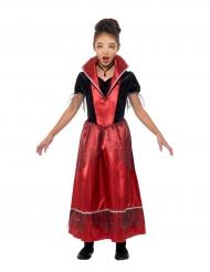 Disfraz princesa vampiro niño