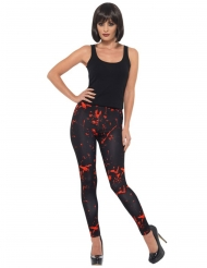 Leggings ensangrentados negro adulto