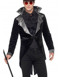 Chaqué vampiro gótico lujo adulto