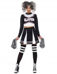 Disfraz animadora gótica mujer