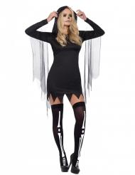 Disfraz segador negro sexy mujer