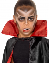 Kit maquillaje vampiro con dientes niño