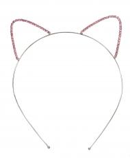 Diadema orejas de gato niña