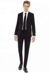 Traje Mr. Black adolescente Opposuits­™