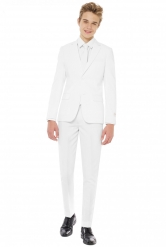 Traje Mr. Blanco adolescente Opposuits™
