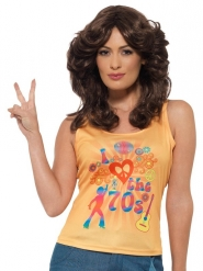 Camiseta disco I love 70