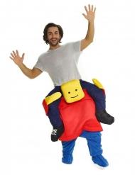 Disfraz hombre sobre cabeza cuadrada adulto Morphsuits™