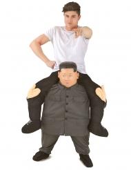 Disfraz sobre los hombros de KIM-Jong-Un adulto Morphsuits™