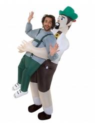 Disfraz hombre en brazos de bávaro adulto Morphsuits™