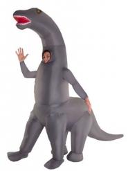 Disfraz inflable esqueleto dinosaurio gigante adulto Morphsuits™