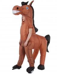 Disfraz inflable caballo gigante niño Morphsuits™