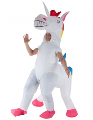 Disfraz inflable unicornio gigante adulto Morphsuits™