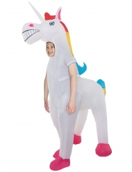 Disfraz inflable Unicornio gigante niños Morphsuits™