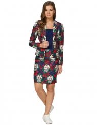Disfraz Mrs. Skull Día de los muertos mujer Suitmeister™