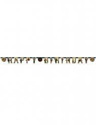 Guirlanda de papel Happy Birthday Lego Ninjago™ 200x15 cm
