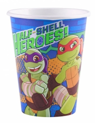 8 Vasos cartón Tortugas Ninja™ 266 ml