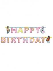 Guirnalda papel Happy Birthday Charming Hoses 177 x 15 cm