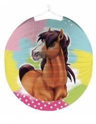 Linterna redonda de papel Charming Horse 25 cm