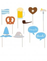 Kit photocall Oktoberfest 10 accesorios