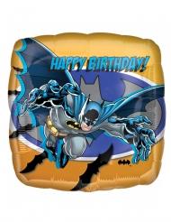 Globo cuadrado aluminio Batman™ 40 x 40 cm