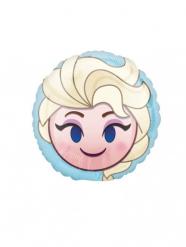 Globo pequeño aluminio Frozen Emoji™ 23 cm